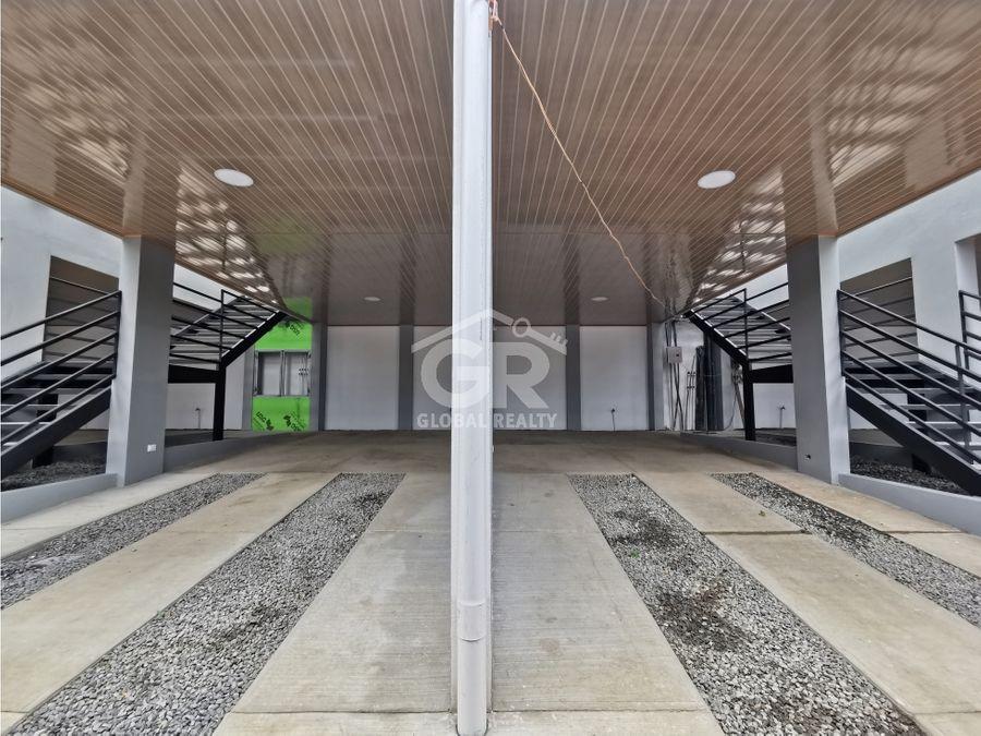 se vende apartamento nuevo de una sola planta guadalupe san jose