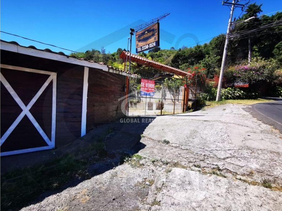 venta de local comercial residencial aserri sobre carretera 1994
