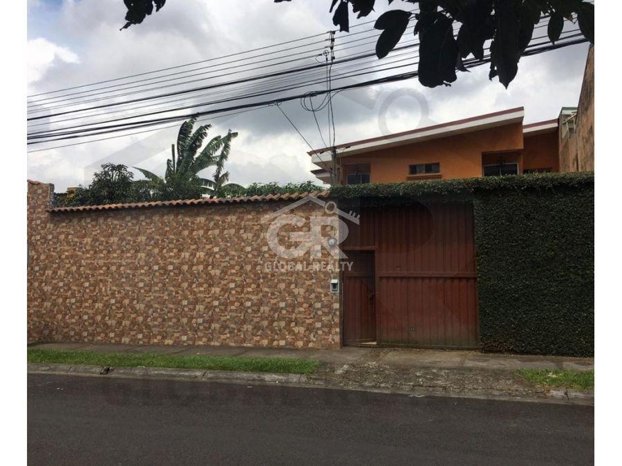 venta de casa residencial en sabanilla san josecr 1712