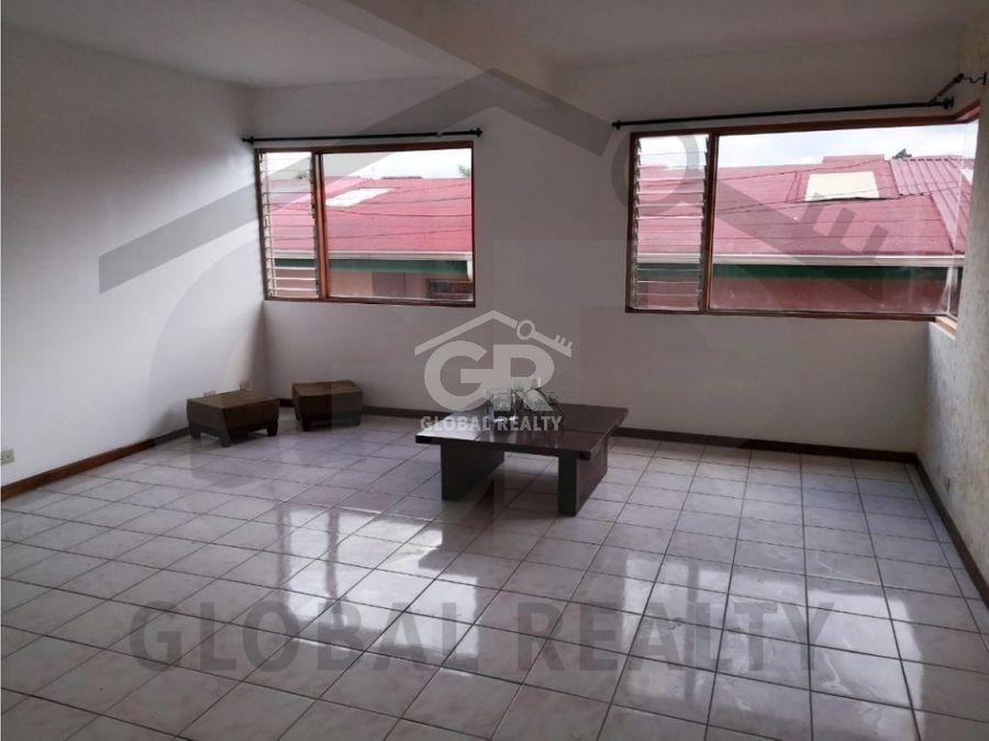 alquiler de apartamento en condominio en sabanilla san josecr1287