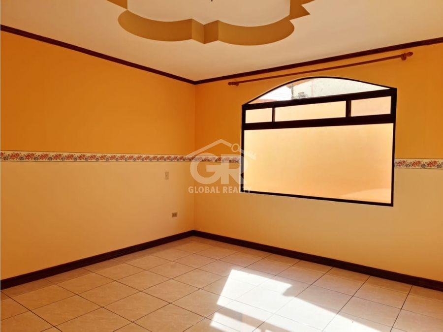 venta casa residencial de una planta san rafael arriba desamparados