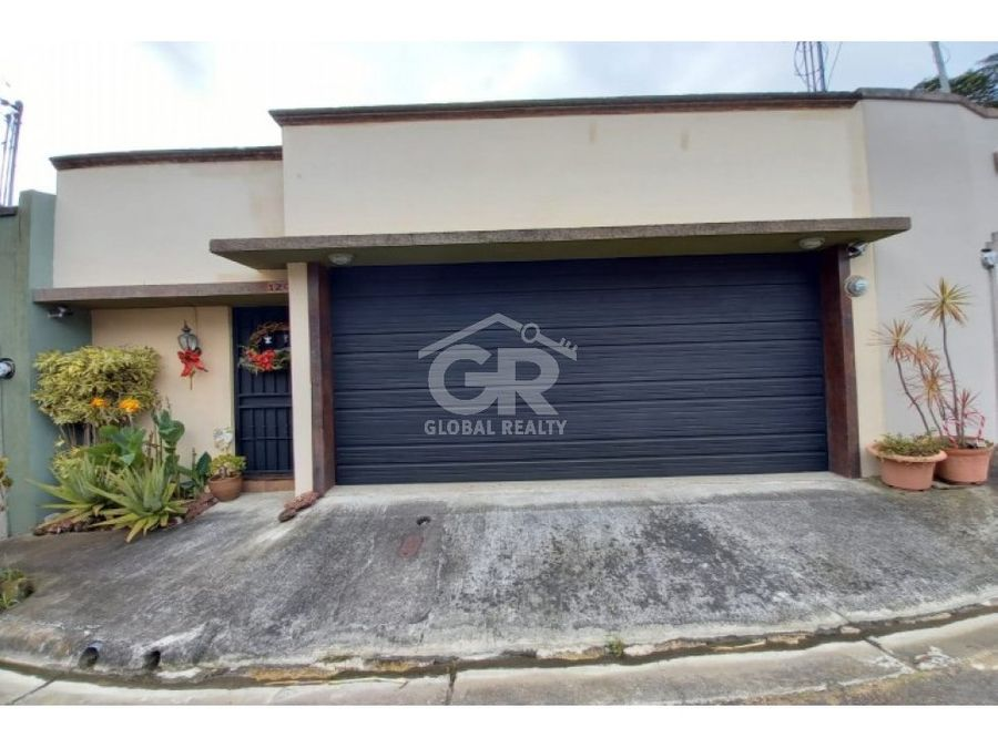 venta de casa en san vicente moravia san jose costa rica