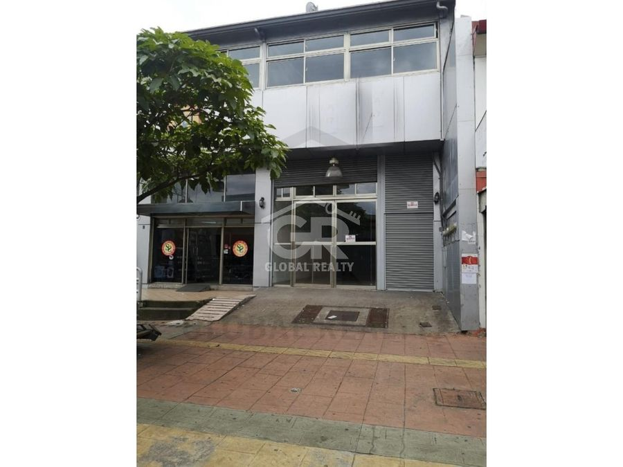 alquiler de local comercial en la avenida segunda san josecr 1572