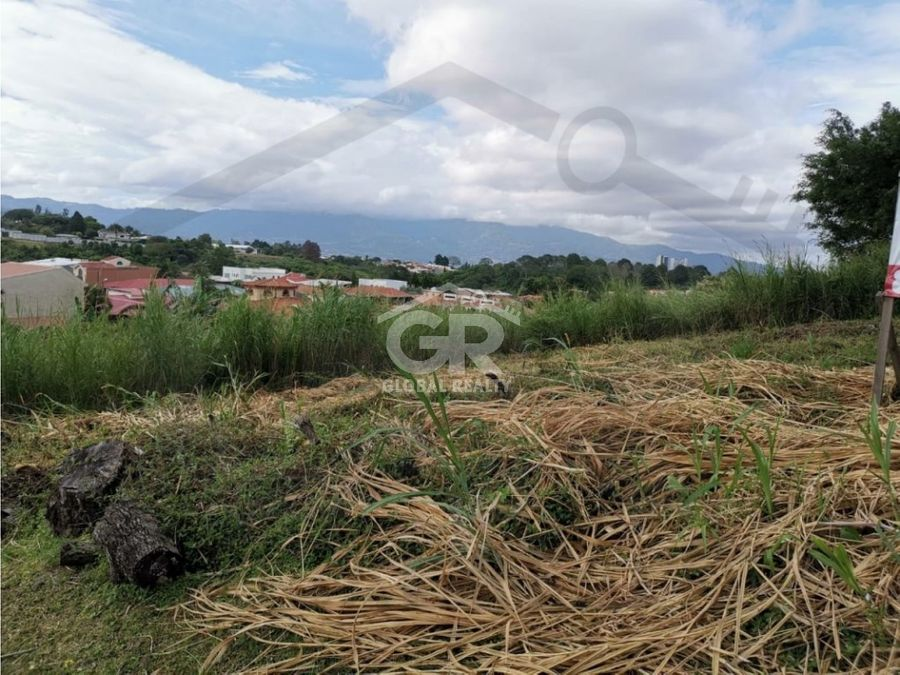 venta de lote en residencial en granadilla curridabat san josecr1730