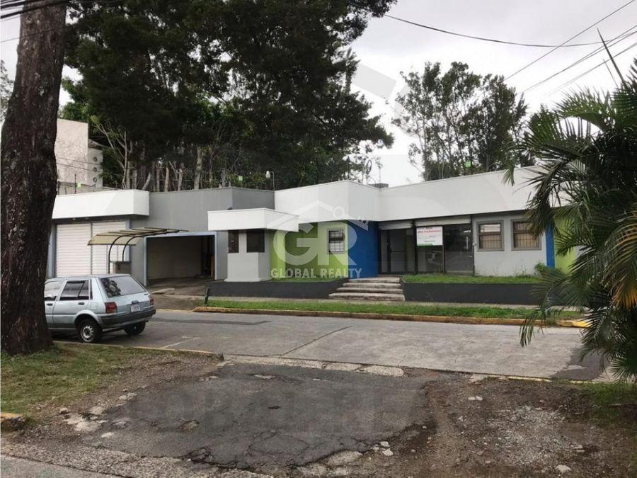 alquiler de local comercial en barrio dent san pedro san josecr1708