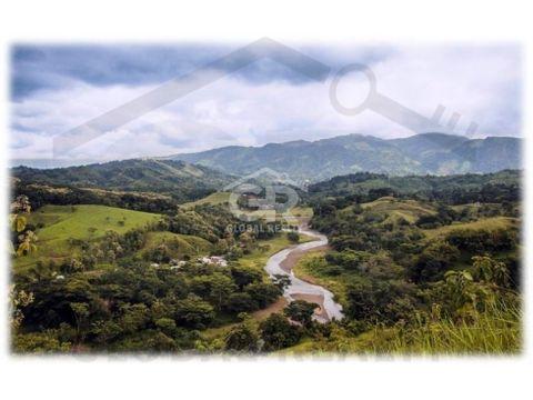 venta de terreno en proyecto ecologico en parrita san josecr 1654