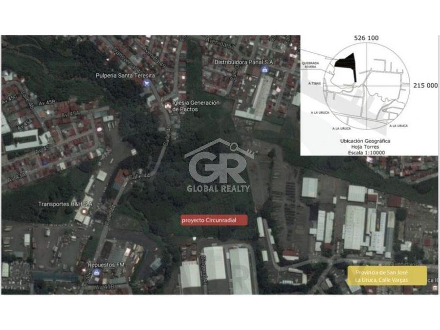 venta de terreno ubicado en la uruca san josecr 1397
