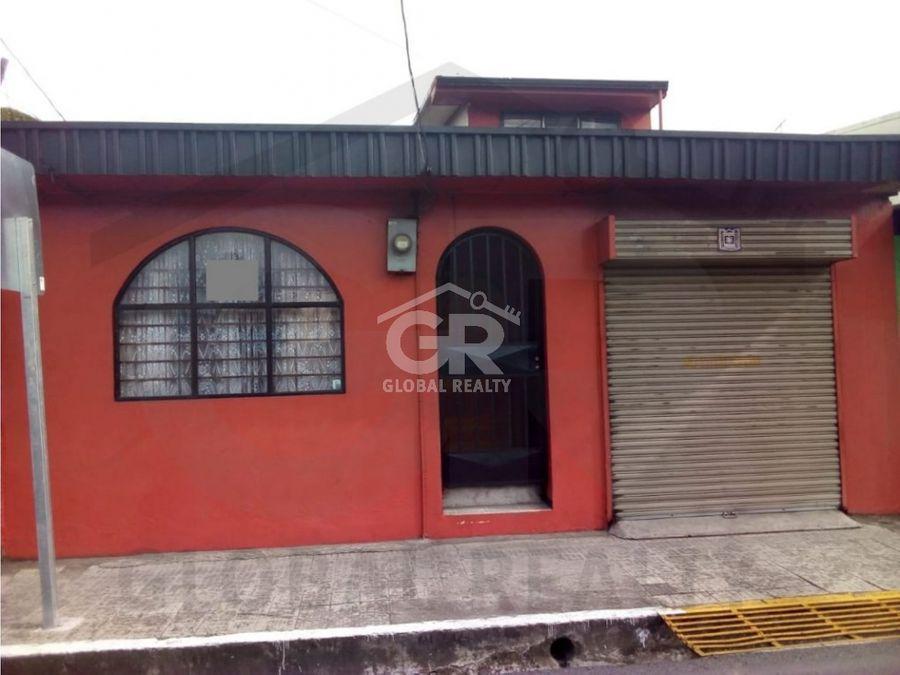 venta de casa comercial en avenida del comercio san josecr 1163