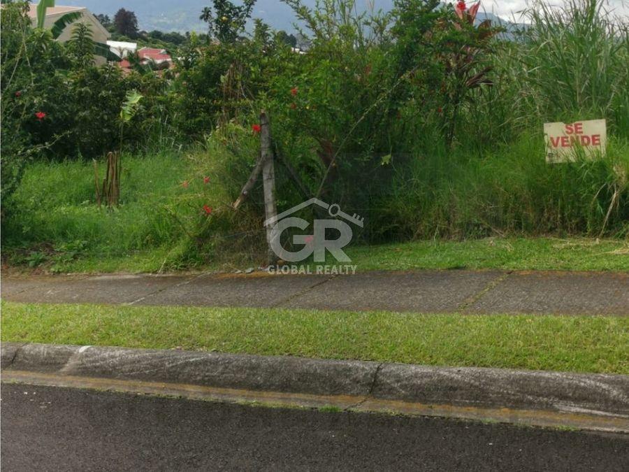venta de lote en residencial en granadilla curridabat san josecr1728