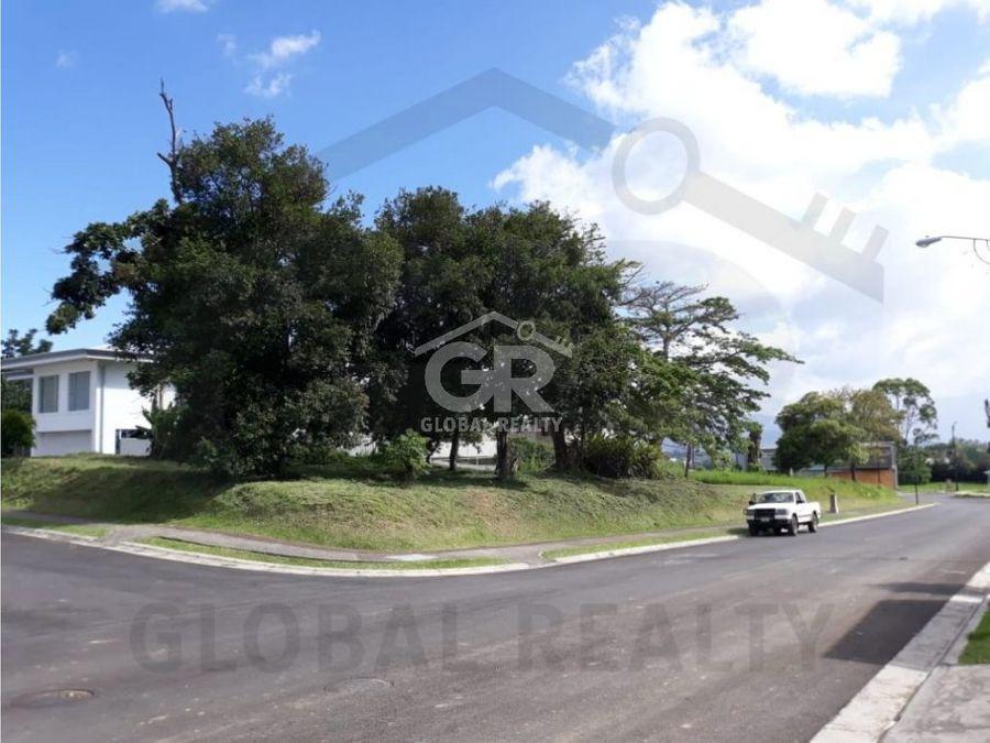 venta de lote en residencial vista verde tres rios cartagocr 1682