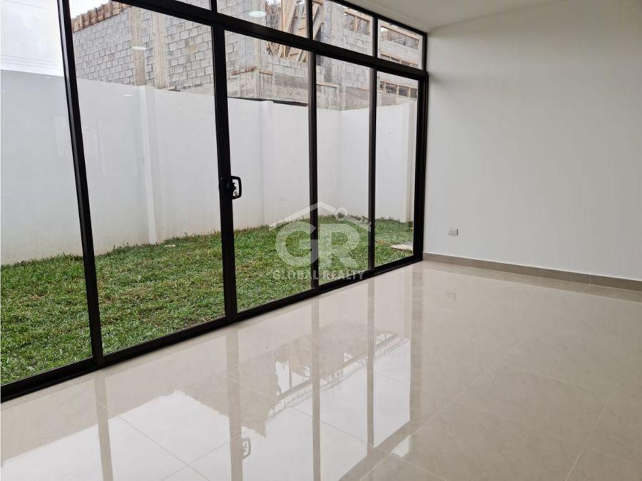 se vende casa en condominio nueva para estrenar san juan tres rios