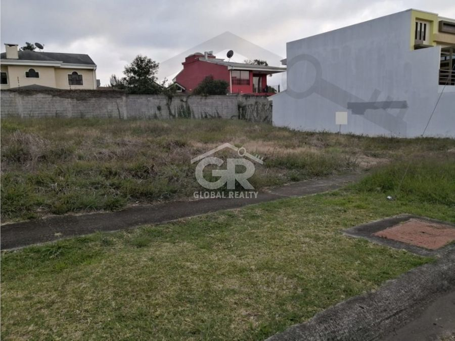 venta de lote en residencial tierras del este paraiso cartagocr1901