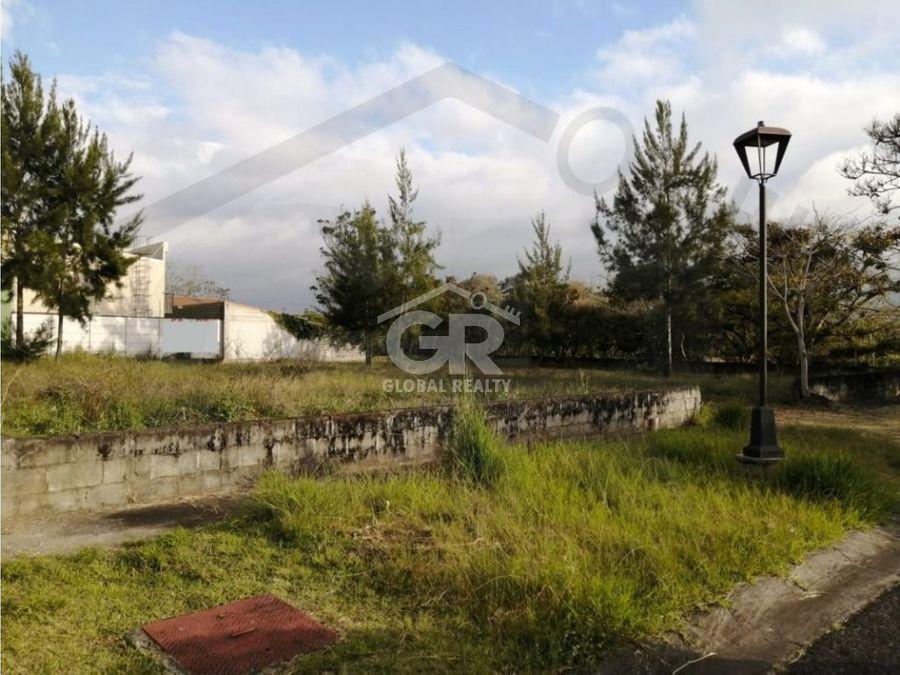 venta de lote en residencial tierras del este paraiso cartagocr1902