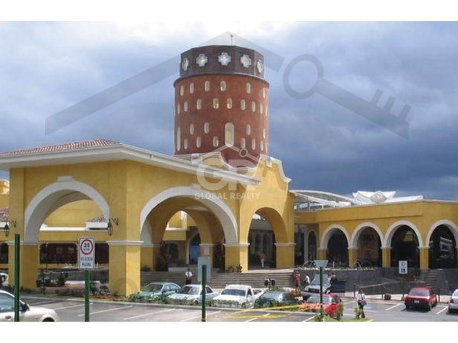 alquiler de local en centro comercial paseo de las florescr 1744
