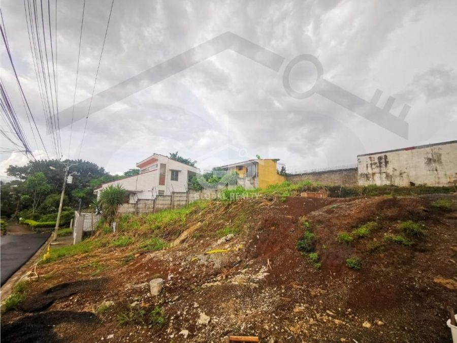venta de lote residencial en curridabat san josecr 1663