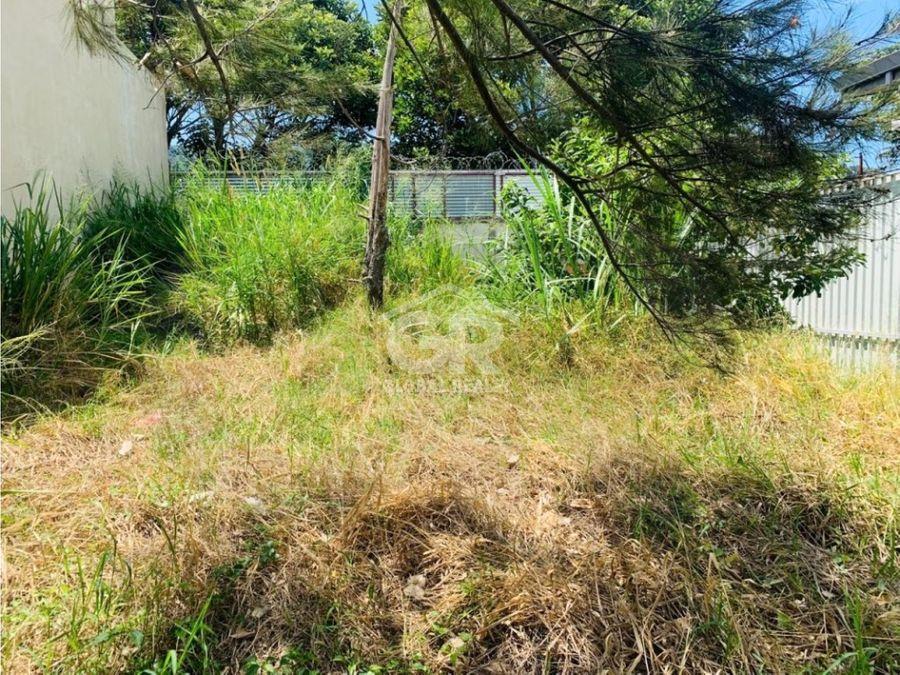 venta de lote residencial en san rafael de tres rios san josecr1325