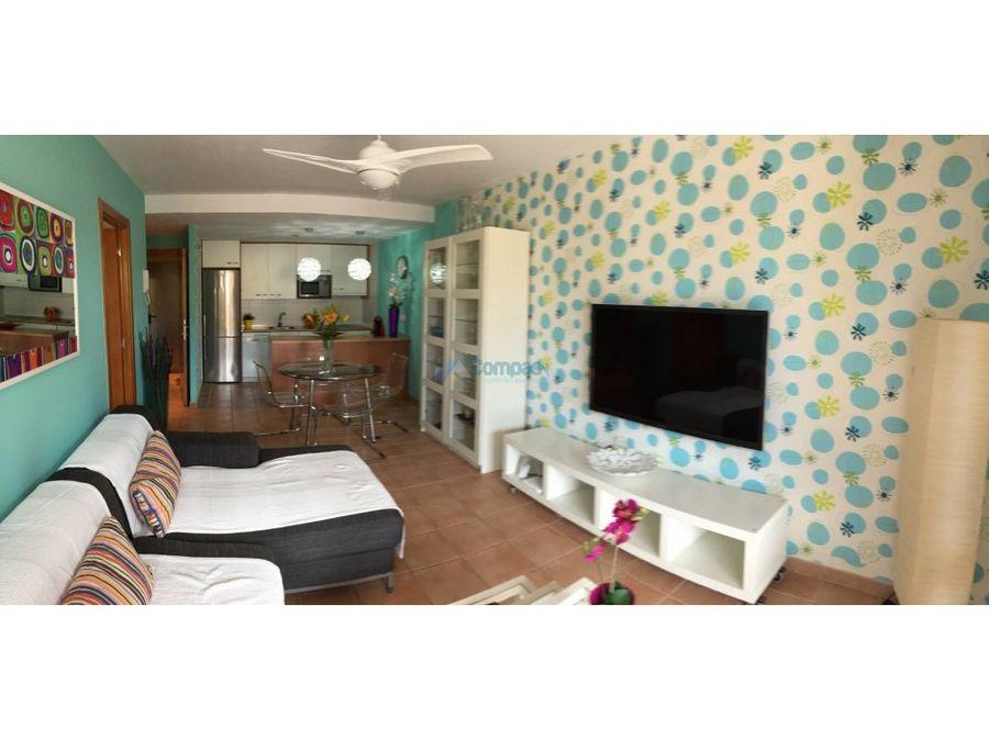 apartamento en alquiler en playa paraiso