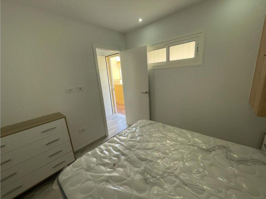 estudio reformado a un dormitorio en torviscas bajo adeje