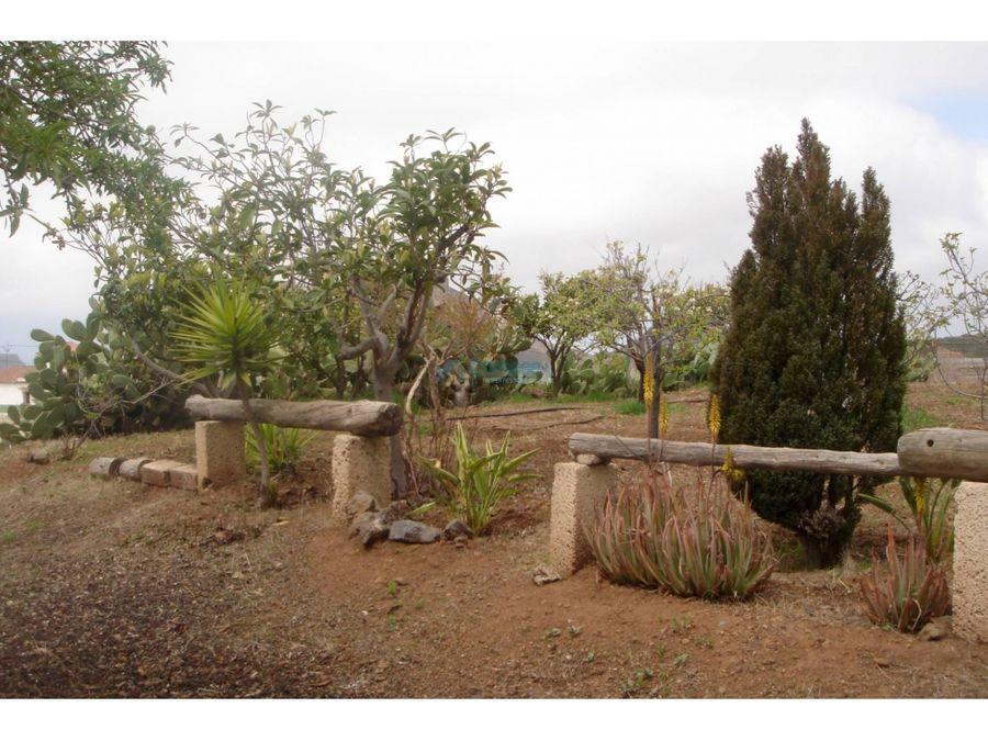 terreno edificable en la escalona vilaflor tenerife