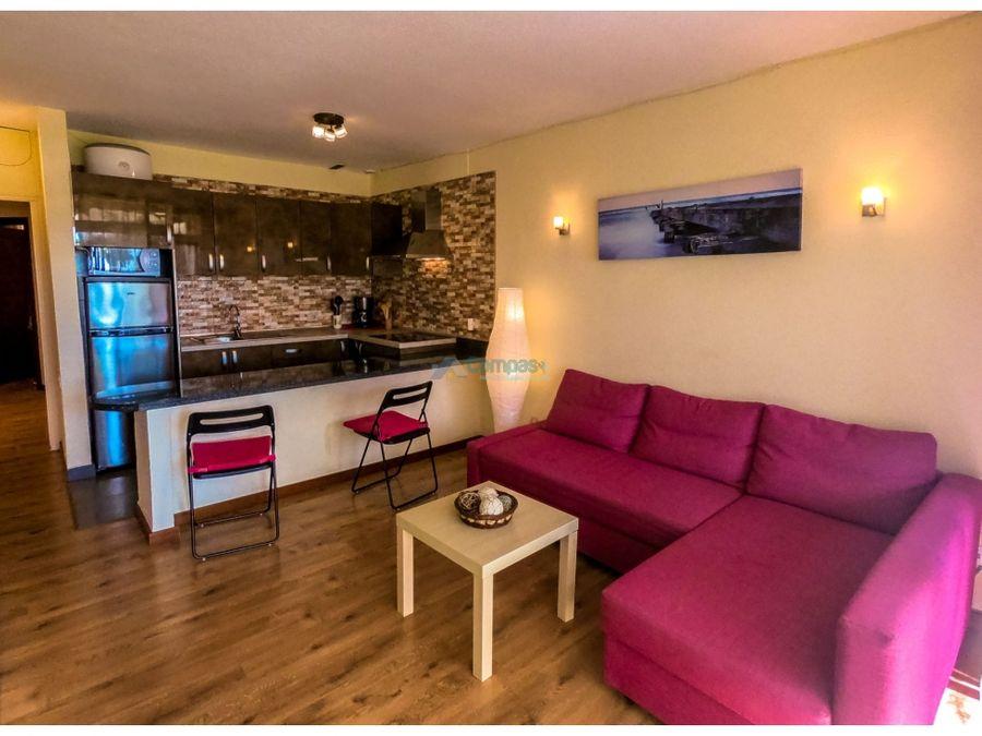 exclusivo apartamento frente mar situado en el medano