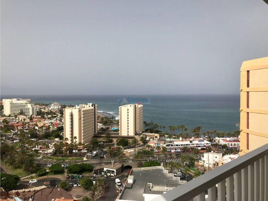 apartamento panoramico vista mar en playa las america tenerife sur
