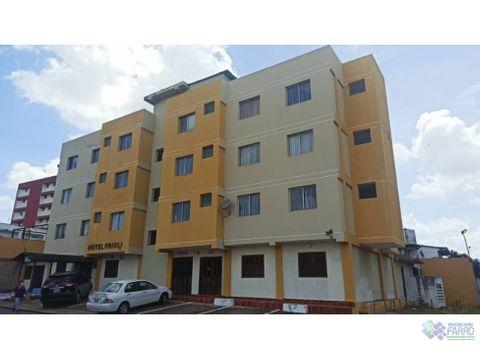 se alquila hotel en sector centro al01 0063sc mf