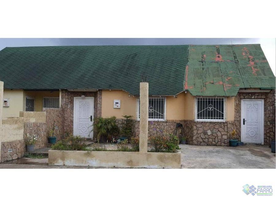 se vende town house en urb valle grande ve02 361zi im