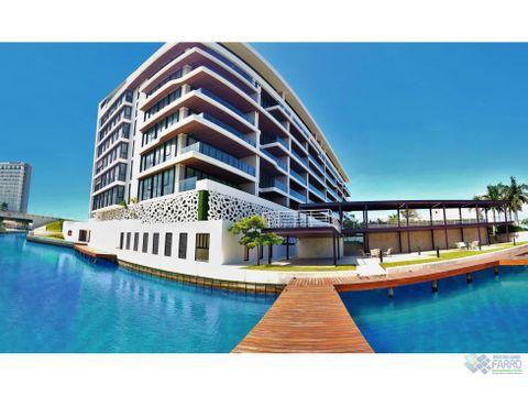 vendealquila departamento en allursu2 h puerto cancun ve02 382mex co