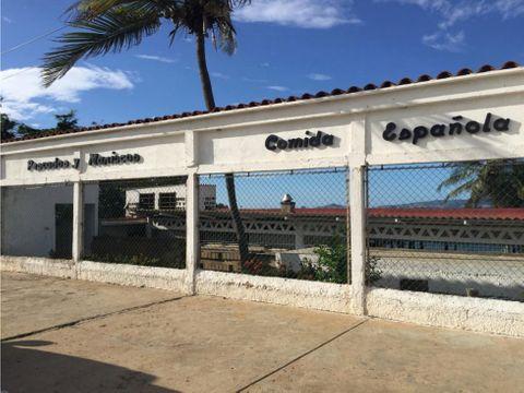 se vende restaurante con fondo de comercio en lecheria ve02 113az lf
