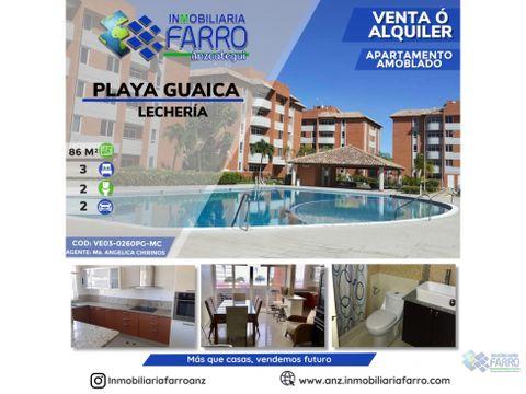 en venta apartamento en playa guaica ve03 0260pg mc