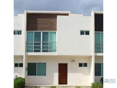 se alquila casa en residencial yorkli cancun mexico al02 197mex co