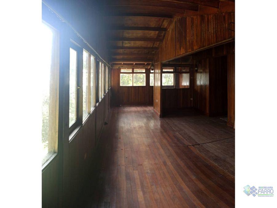 se vende cabana en la colonia tovar ve01 0832ct mf