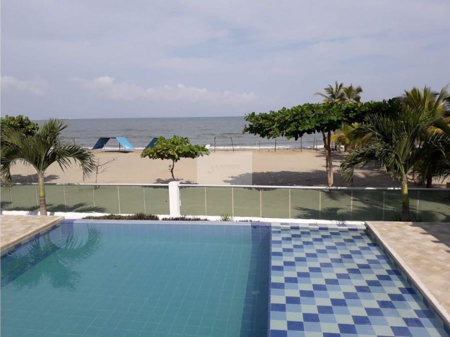 apartamento amplio en covenas vista al mar