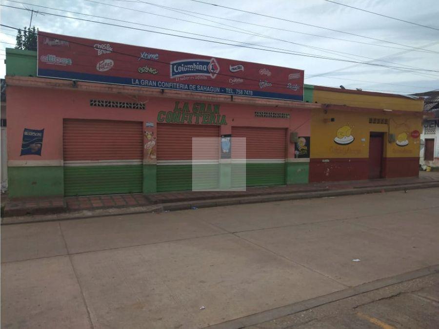 casa y locales en sahagun