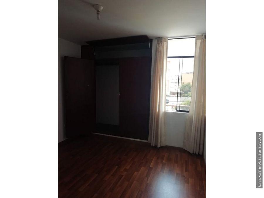 ocasion venta de departamento de 3 dormitorios en cercado de lima