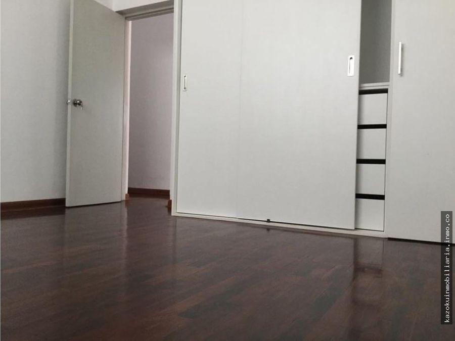 ocasion vendo amplio departamento en 1 piso en magdalena