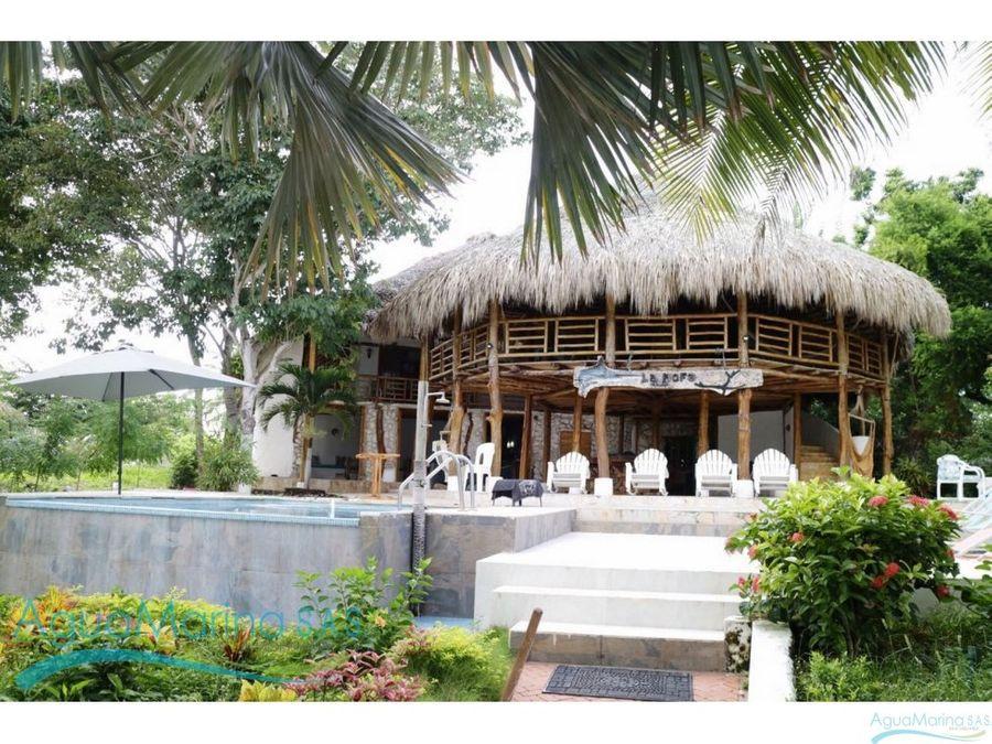 casa de playa en isla