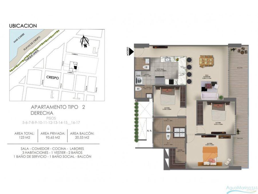 apartamento crespo ambar 567