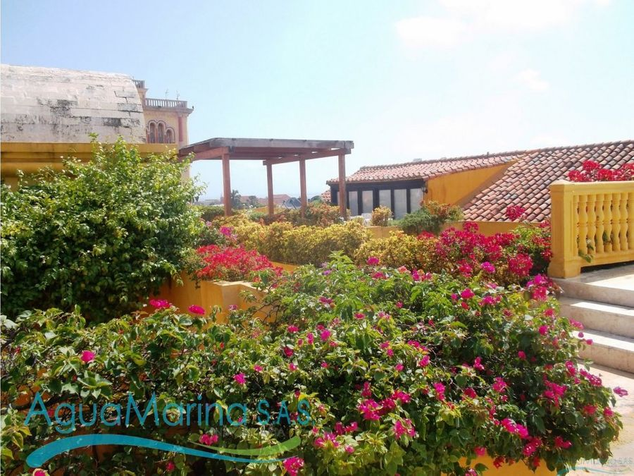 duplex en el centro historico de cartagena