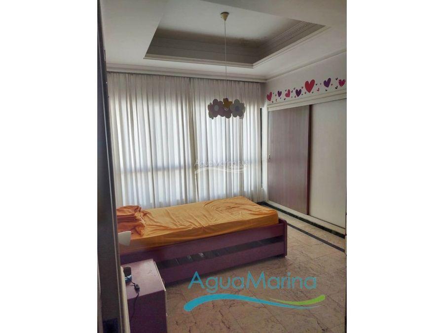 apartamento en venta en bocagrande con vista la bahia
