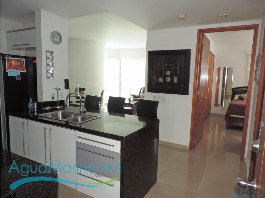 apartamento bocagrande con 2 habitaciones