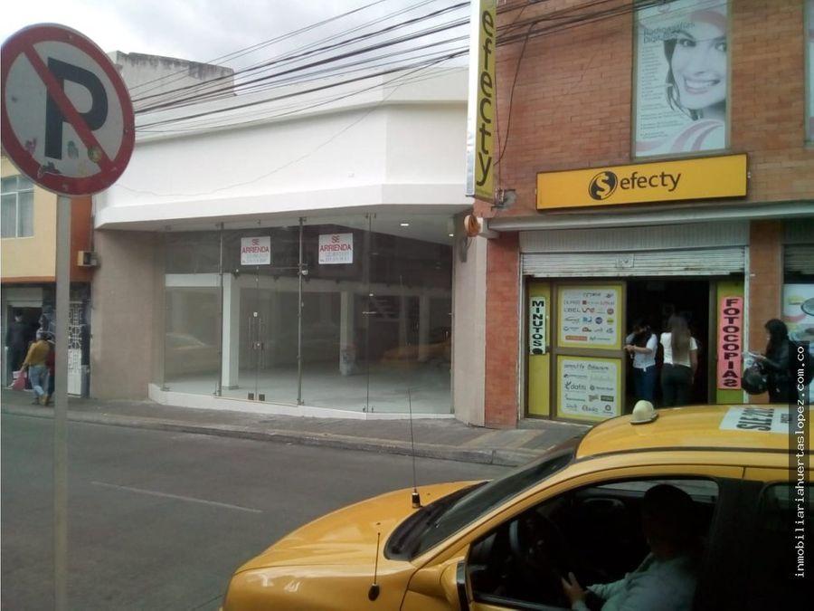 local comercial se arrienda en las cuadras