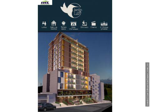apartamentos proyecto jardin de lilly la riviera