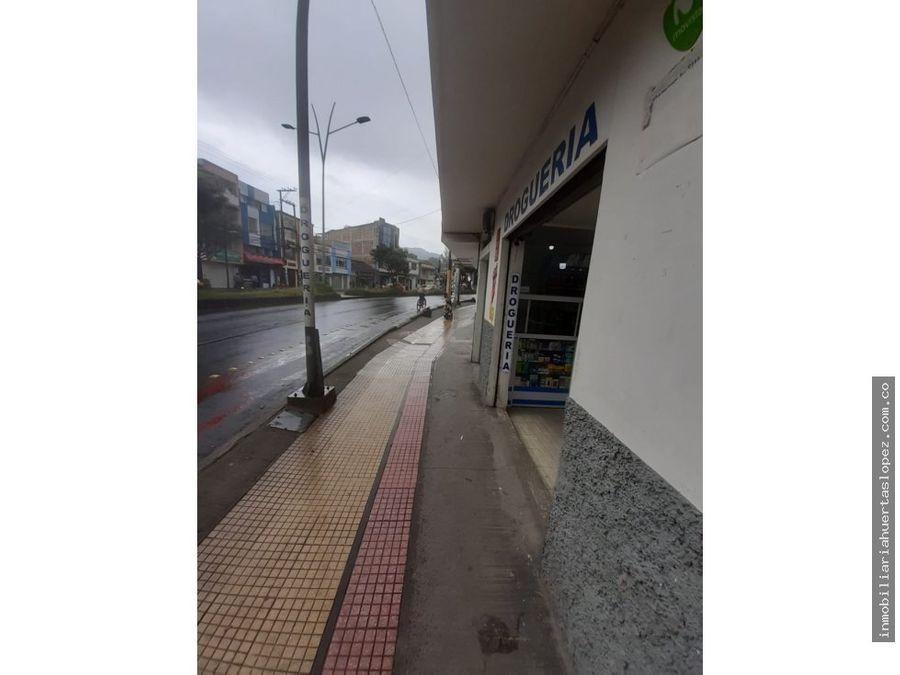 casa lote se vende en avenida colombia