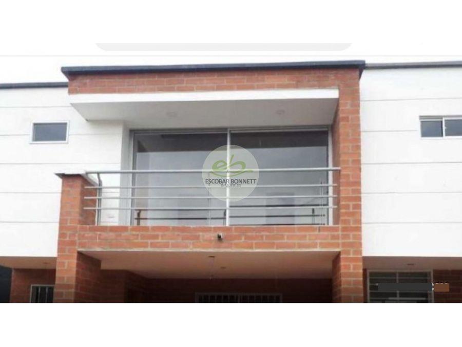 venta de casa en la ceja estrenar 3 alcobas 125 m2