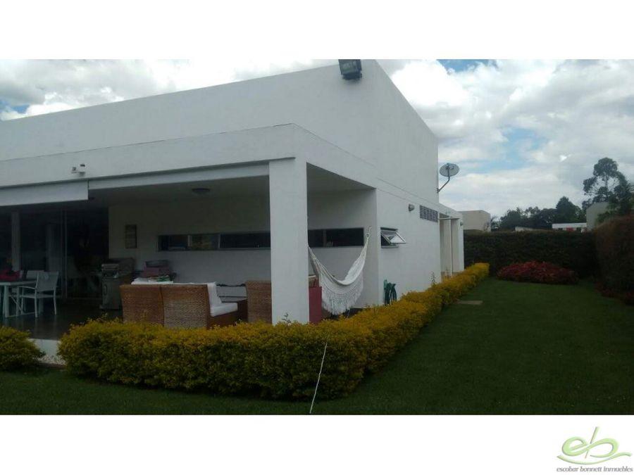 venta casa campestre en llanogrande