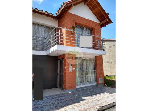 venta casa en la ceja sector exito