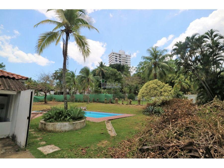 amplia casa con piscina alquiler panama