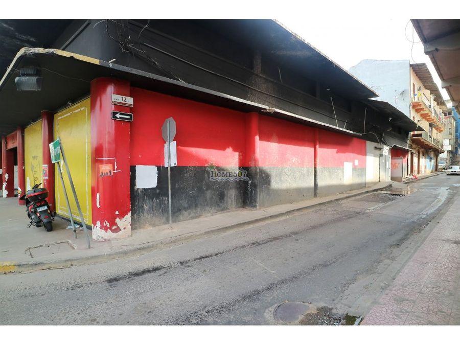 alquiler de gran local en casco antiguo panama