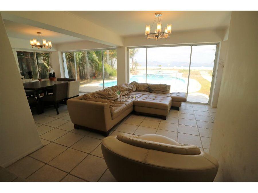 lujosa casa frente a playa punta chame panama